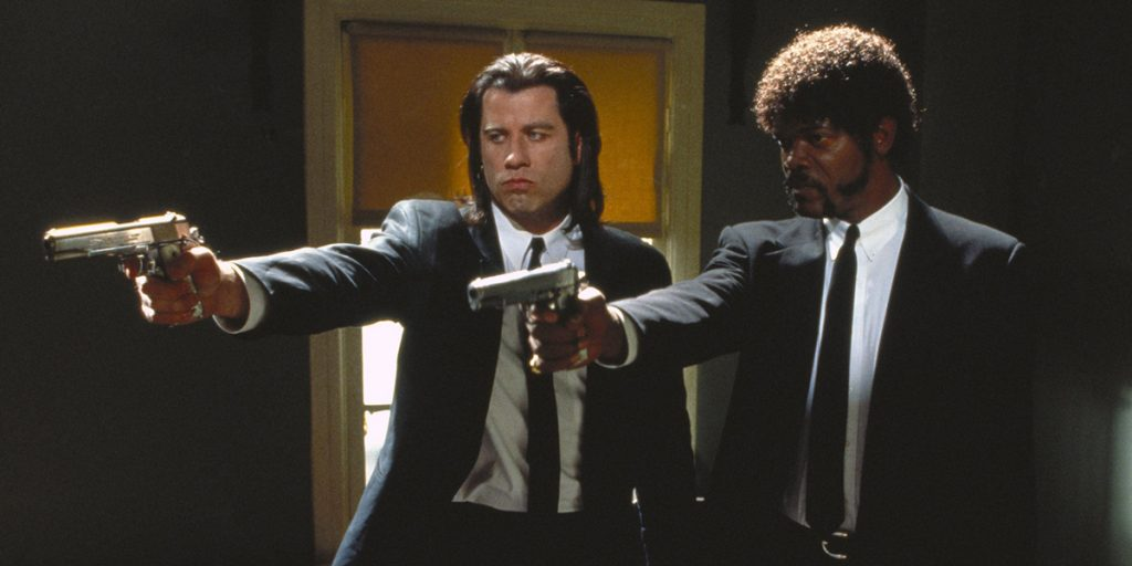 Pulp Fiction John Travolta en Samuel L Jackson